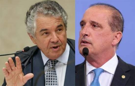 Marco Aurélio diz não ser possível acolher pedido do PGR para homologação de Onyx