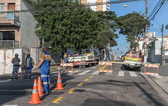 Prefeitura realiza melhorias no tráfego em vias do Jardim Bela Vista e Vila Bastos