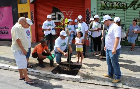A iniciativa contará com plantio de 600 árvores no bairro Parque Capuava