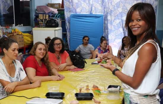 """Em Ribeirão Pires, """"Modelagem em Argila"""" é tema de formação de professores"""