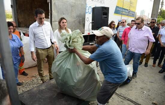 O programa gera consciência ambiental e incentiva todos os moradores a cuidarem da comunidade