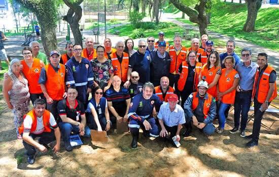 Objetivo do treinamento de segurança foi preparar a comunidade e os órgãos públicos para atuação segura em caso de eventual emergência