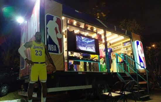 NBA Store Truck