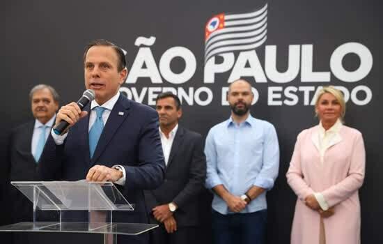 O Governador do Estado de São Paulo, João Doria, participa do anúncio de início das obras do novo Hospital Pérola Byington