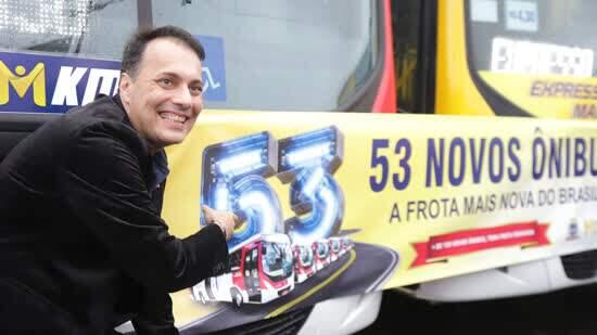 Com 53 novos ônibus, idade média de frota em Mauá cai para 1,6 ano