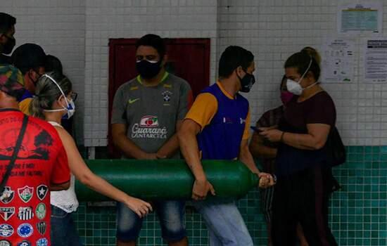 Por falta de oxigênios pacientes internados em Manasus, tiveram morte por asfixia