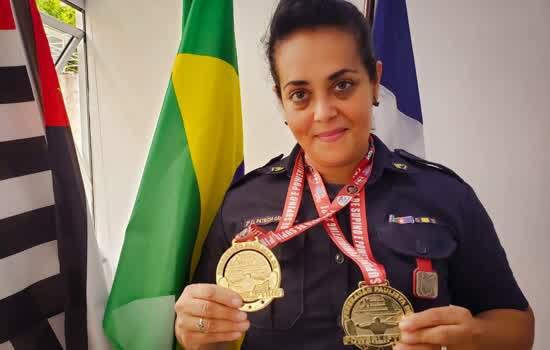 Guarda de São Caetano conquista duas medalhas de ouro em Campeonato Paulista de Powerlifting e Supino