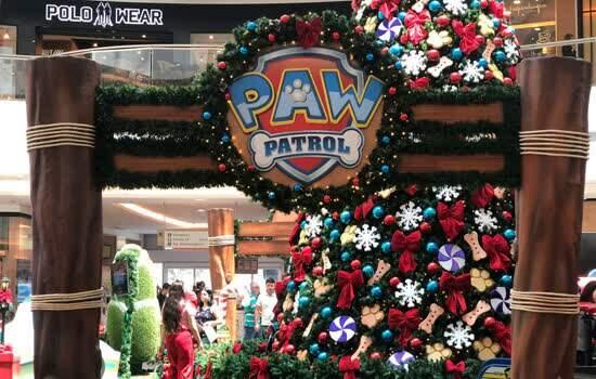 Parada de Natal com Patrulha Canina no São Bernardo Plaza