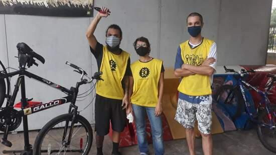 Pedal Contra o Corona vai às ruas de São Paulo valorizar o trabalho do ciclista entregador