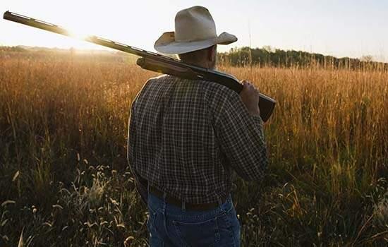 Resultado de imagem para posse de arma no campo é sancionado