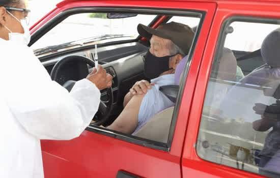 Santo André disponibiliza agendamento de segunda dose da Coronavac para idosos entre 69 e 71 anos