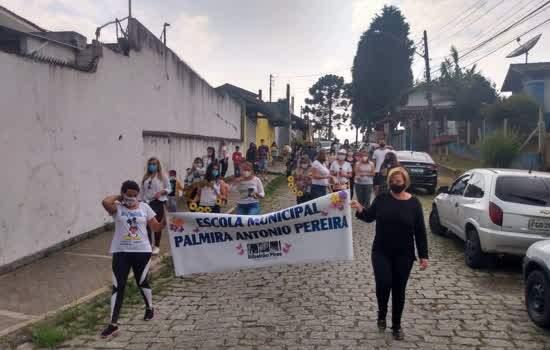 Escolas Municipais de Ribeirão Pires fazem ações na chegada da primavera