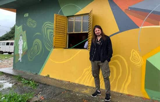 Michael Smith Masis, Professor de Harvard, visita a Praça da Cidadania em Santo André no ABC paulista