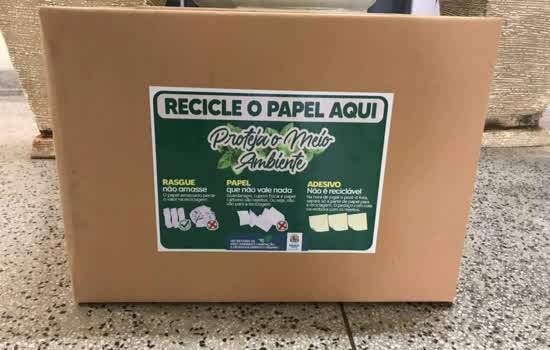 """Projeto """"Recicle o Papel Aqui! Proteja o Meio Ambiente"""""""