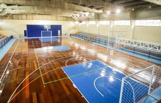 Escola Estadual Ennio Voss, recebe novo espaço para estudantes realizarem práticas desportivas
