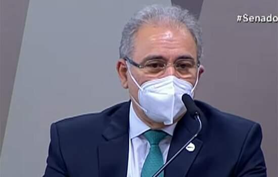 Queiroga diz que o Brasil é o quinto País que mais distribui doses de vacinas no mundo