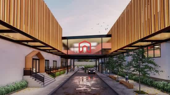 Câmpus Villa-Lobos da Red House International School oferece espaços ao ar livre para a prática de atividades pedagógicas