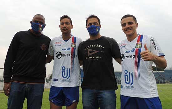 Fabinho Félix(coordenador de futebol), Marcílio, Marcio Griggio(diretor executivo) e Lucas Limão