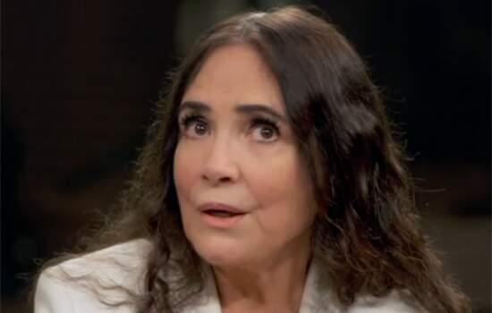 Regian Duarte no programa Conversa com Bial