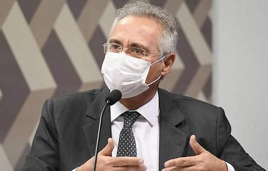 Renan disse que depoimento de Mandetta foi além da expectativa