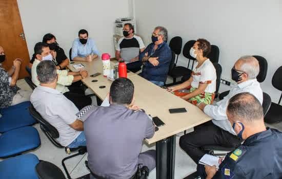 Reunião intersetorial em São Caetano discute sobre ações da campanha Não dê dinheiro, dê oportunidade