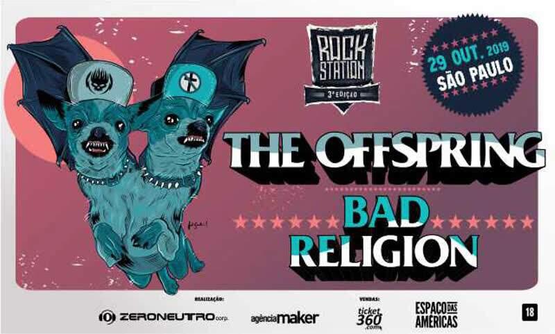The Offspring e Bad Religion / Crédito: Divulgação