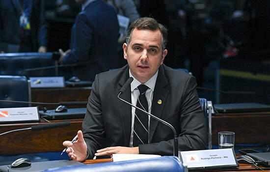 O senador Rodrigo Pacheco (DEM-MG), relator do projeto sobre abuso de autoridade