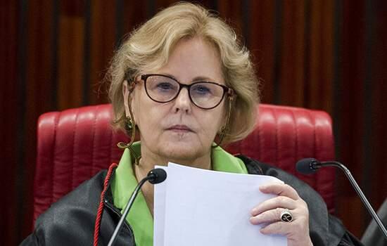 A ministra do STF,  Rosa Weber