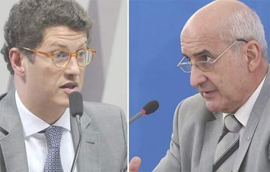 Salles e Ramos: tregua para bilndgem no governo