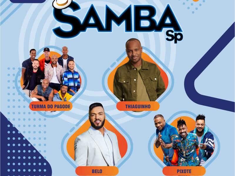Samba SP- Turma do Pagode, Belo, Thiaguinho e...