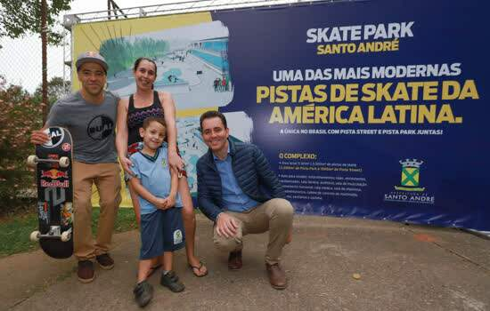Santo André vai ganhar uma das pistas de skate mais modernas da América Latina
