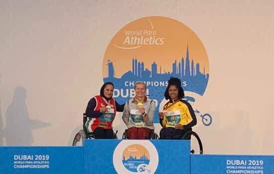 Raissa Machado - Campeonato Mundial de Atletismo Paralímpico Dubai