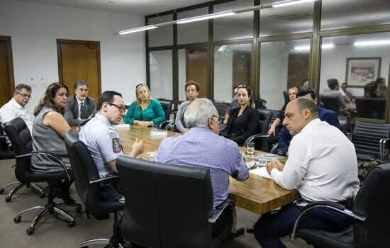 Reunião e Entrega de Subvenção Segurança