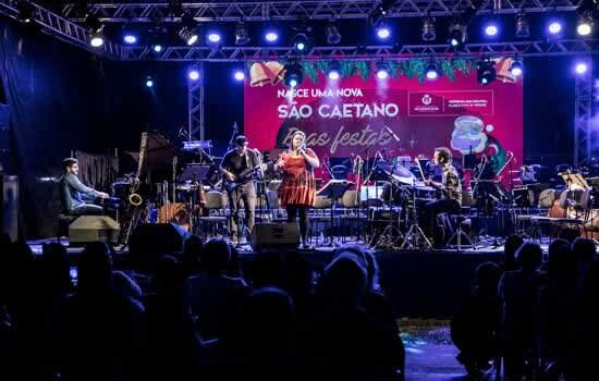 Show de Natal de São Caetano encanta moradores