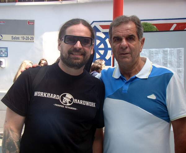 Andreas Kisser e Décio Cattaruzzi