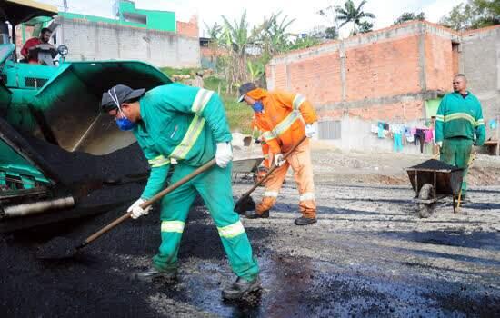 A primeira fase das obras de infraestrutura e urbanização do Sítio Joaninha chegou à reta final.