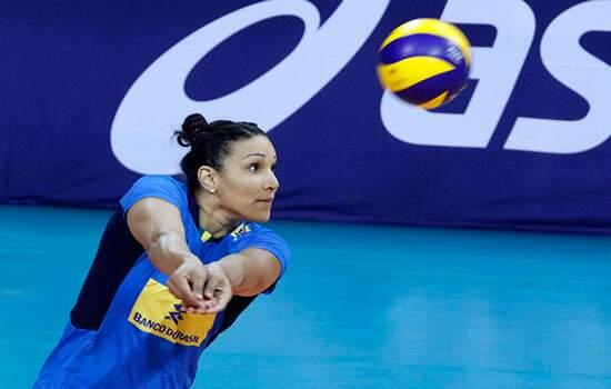 A seleção brasileira feminina de vôlei embarcará para a China na próxima quarta-feira, 26 de junho