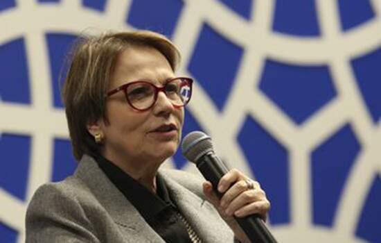 A ministra da Agricultura, Pecuária e Abastecimento Tereza Cristina