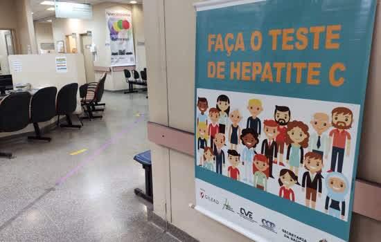 """Diadema promove ação """"Você sem Hepatites"""" para estimular diagnóstico no Julho Amarelo"""