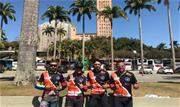 Ciclistas pedalaram cerca 180 km de Ribeirão Pires até o destino final   - Continue lendo