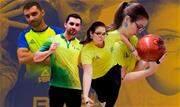 Os atletas Stephanie Martins e Renan Zoghaib representam o país no torneio realizado em Palimbão até sábado, dia 23 de novembro - Continue lendo