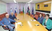 Entidade regional recebeu equipe da Região Central nesta terça-feira (22/10) - Continue lendo