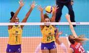 Neste sábado (14.09), o Brasil venceu a Sérvia, atual campeã mundial, por 3 sets a 2, em Hamamatsu, no Japão.  - Continue lendo