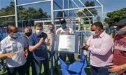 Além da entrega do equipamento no Jardim Silvina, prefeito Orlando Morando autorizou neste sábado (08/08) construção de mais uma arena, desta vez, na Vila Ferreira - Continue lendo