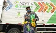 Iniciativa andreense troca resíduos recicláveis por alimento em locais carentes - Continue lendo