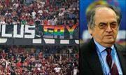 Enquanto no Brasil, o STJD passou a recomendar que árbitros paralisem as partidas se casos de homofobia e transfobia forem registrados nos estádios, a França está em direção contrária - Continue lendo