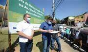 Prefeito Orlando Morando assinou a Ordem de Serviço, com início das obras para a próxima segunda-feira (10/08); investimento é de R$ 1,5 milhão em parceria com o Governo Federal - Continue lendo