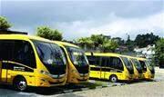 Ônibus são ideais para fretamento de transporte escolar - Continue lendo