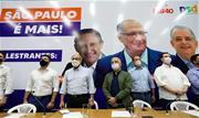 """Em ato pró-Alckmin, Márcio França (PSB), Paulo Skaf (MDB) e Gilberto Kassab participaram de evento em Cajamar; França critica Doria e Kassab manifesta apoio """"incondicional"""" - Continue lendo"""