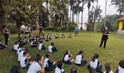 Secretarias de Meio Ambiente, Habitação e Desenvolvimento Urbano, de Educação e SEJEL realizaram ações de conscientização no Parque Prof. Luiz Carlos Grecco  - Continue lendo